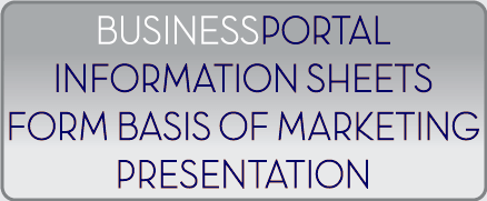 Use BusinessPortal-AU as the basis of the marketing presentations
